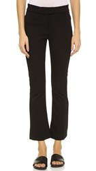 Getting Back To Square One Crop Flare Pants Black
