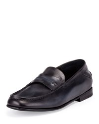 Berluti Gaspard Conduit College Loafer Black