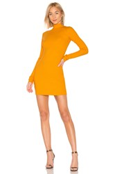 Cotton Citizen The Ibiza Mini Dress Mustard