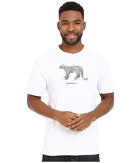 Merrell Big Cat Graphic Tee White Men's Short Sleeve Pullover