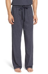 Daniel Buchler Men's Heathered Cotton Blend Lounge Pants Ink