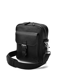 Aspinal Of London Harrison Small Messenger Black