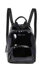 Kendall Kylie Lucy Mini Backpack Black