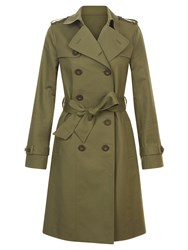 Hobbs Saskia Trench Green