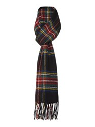 Gloverall Lambswool Scarf Black