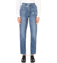 Claudie Pierlot Patsy Regular Fit High Rise Jeans