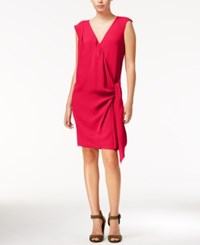 Rachel Roy Draped Faux Wrap Dress Only At Macy's Passion
