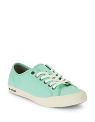 Seavees Monterey Canvas Sneakers Sea Glass