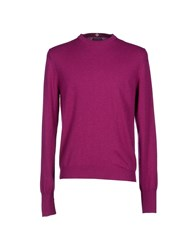 Ballantyne Knitwear Jumpers Men Purple