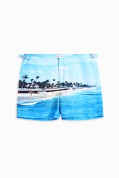 Orlebar Brown Men S Bulldog Photographic Swim Shorts Boutique1 Palm Beach