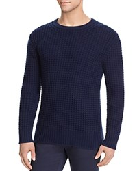 Vince Wool Cashmere Chunky Stitch Sweater Coastal
