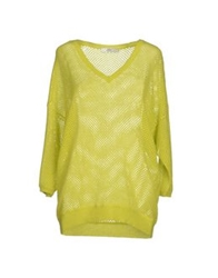 0039 Italy Sweaters Acid Green