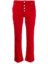 Zadig And Voltaire Londa Stretch Jeans Red