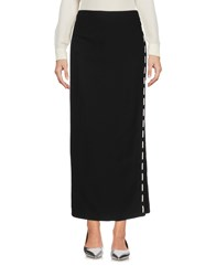 Versace Long Skirts Black