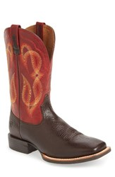 Ariat Men's Quantum Brander Square Toe Cowboy Boot