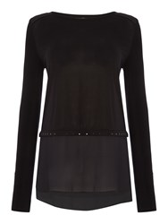 Salsa Victoria Long Sleeve Jersey Sweater Black