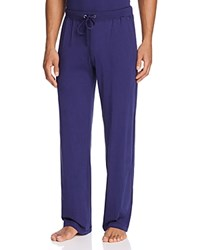 Daniel Buchler Peruvian Pima Cotton Lounge Pants Navy