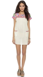 Christophe Sauvat Collection Chica Beach Cover Up Dress Off White
