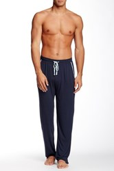 Majestic Knit Lounge Pant Blue