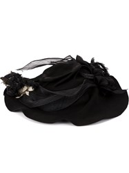 Horisaki Design And Handel Embellished Hat Black