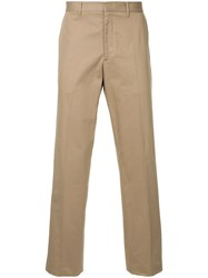 Gieves And Hawkes Tailored Trousers Brown