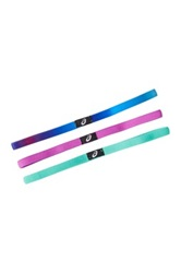 Asics Hera Thin Headbands Pack Of 3 Multi