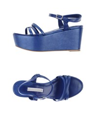 Schumacher Footwear Sandals Women Blue
