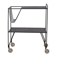House Doctor Trolley Black