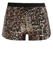 Evenandodd Shorts Gold
