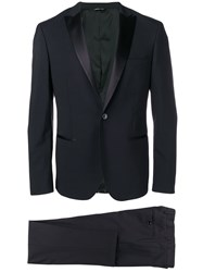Tonello Tailored Suit Set Blue