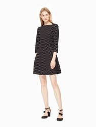 Kate Spade Dot Everyday Dress Black Cream