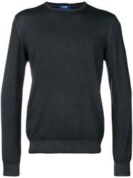 Barba Basic Jumper Blue