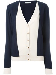 J.W.Anderson Layered Cardigan Blue