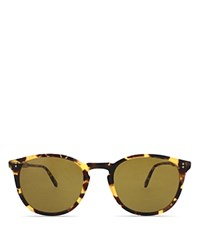 Garrett Leight Kinney Sunglasses 49Mm Matte Dark Tortoise Pure Brown