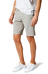 Good Man Brand Wrap Microdot Stretch Chino Shorts Magnet