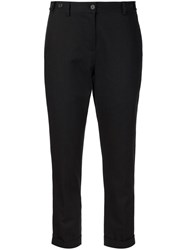 Ymc Cropped Tailored Trousers Black