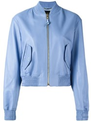 Versace Classic Bomber Jacket Blue