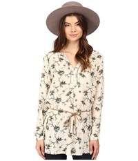 Only Louis Keen On Flower Tunic Whitecap Gray Women's Clothing
