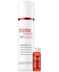 Philosophy Time In A Bottle 100 In Control Repair Renew Resist Serum No Color
