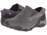 Merrell Polarand Rove Moc Waterproof Granite Women's Slip On Shoes Gray