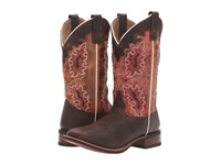 Laredo Isla Brown Red Cowboy Boots