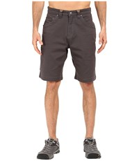 Mountain Khakis Camber 107 Short Slate Men's Shorts Metallic