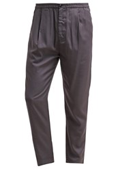 Kiomi Trousers Dark Grey Anthracite