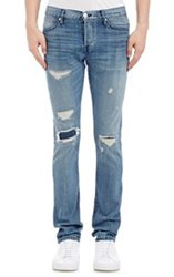 3X1 Distressed Jeans Blue