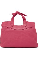 Red Valentino Redvalentino Mini Leather Tote Bright Pink