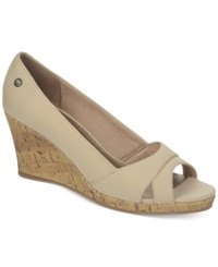 Life Stride Rogue Wedge Sandals Women's Shoes Natural