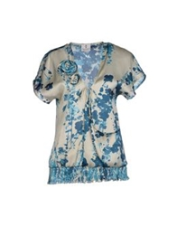 Only 4 Stylish Girls By Patrizia Pepe Blouses Blue
