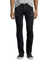 Hudson Broderick Slouchy Skinny Jeans Ashen