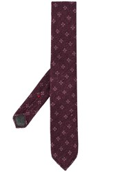 Dell'oglio All Over Pattern Tie 60
