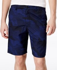 American Rag Men's Maurice Abstract Print Shorts Only At Macy's Medieval Blue